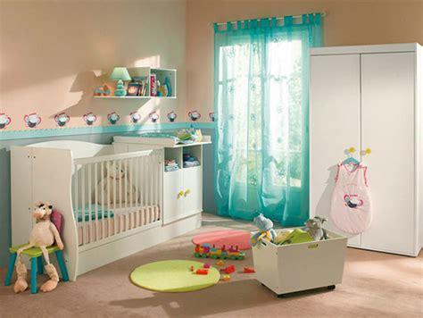 Ordinaire Agencer Une Petite Chambre #5: Déco-turquoise-chambre-bébé.jpg
