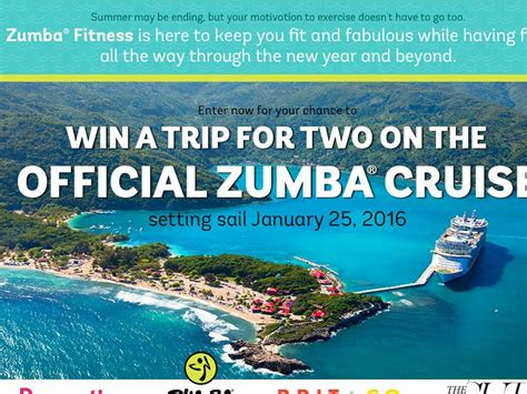Cruise Sweepstakes - the prevention zumba cruise sweepstakes sweepstakes fanatics