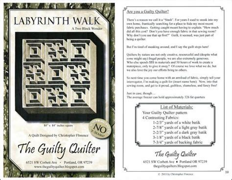 walking labyrinth quilt pattern labyrinth walk quilt pattern labyrinth walk a two block