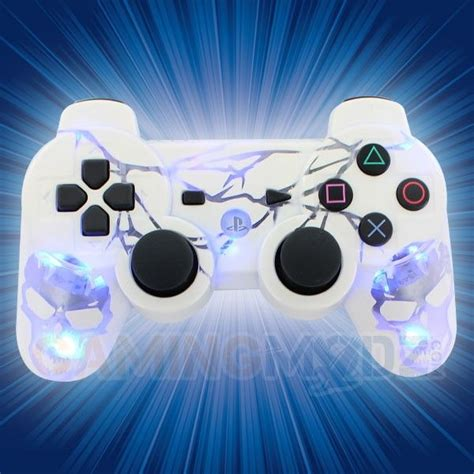 ps3 controller light codes ps3 controller custom glow www imgkid com the image