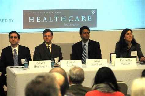 Inventiv Health Mba Harvard by Harvard Business School Panelists Examine Health Care