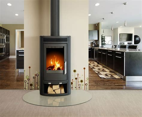 Contemporary Wood Burning Stoves Arctic 5kw Contemporary Wood Burning Stove
