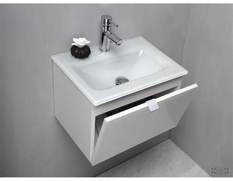 lavabo bagno in vetro mobile bagno con lavello in vetro cm 51