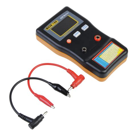 low esr capacitor tester mesr 100 autoranging esr low ohm circuit capacitor meter tester alex nld