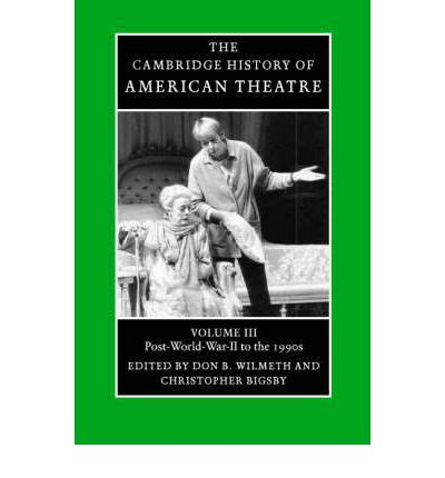 s american war a history cambridge studies in us foreign relations books the cambridge history of american theatre post world war