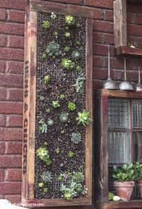 Diy Vertical Garden Planter Diy Vertical Succulent Planter