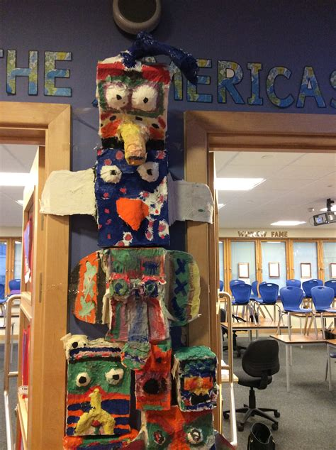 How To Make A Totem Pole Out Of Paper - forest primary school kingswood bristol 187