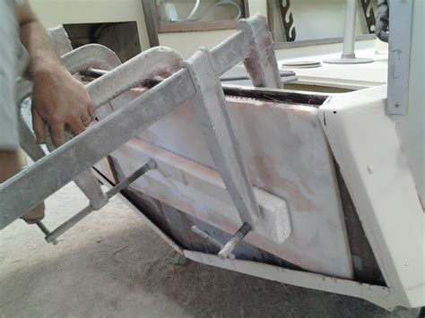 small boat transom repair hydra sport transom replacement the hull truth boating