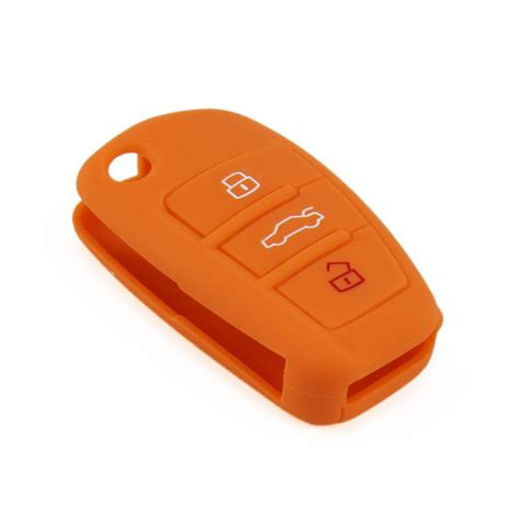 Casing Cover Audi Flipkey 3 Tombol 3 button holder shell key cover for car silicone audi