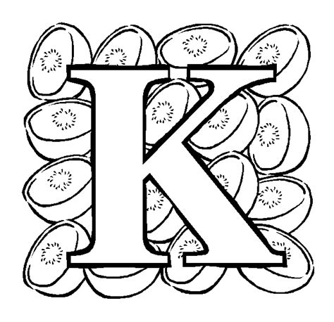 coloring pictures letter k printable coloring pages letter k coloring pages