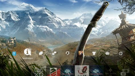 ps4 themes far cry 4 free far cry 4 ps4 dynamic theme and hohokum theme