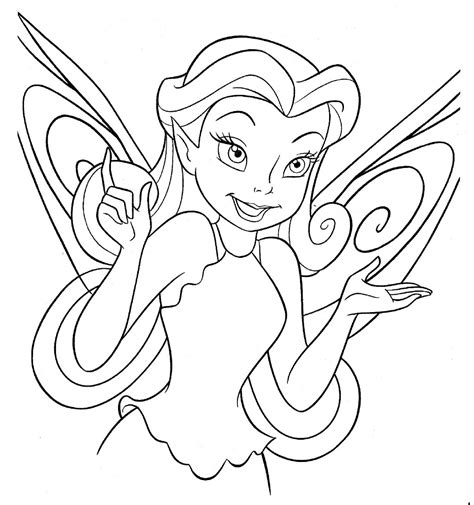 Elvenpath Coloring Pages Fate Disney Fairies 4 Coloring Pages To Color