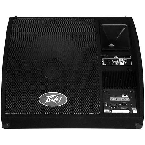 100 floors stage 99 peavey pv 15pm powered floor monitor music123