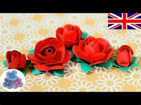 How To Make Paper Roses For Cards - how to make paper flowers diy paper roses valentines