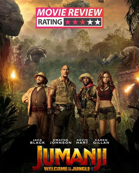 jumanji film review jumanji welcome to the jungle movie review dwayne