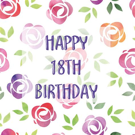 Happy 18th Birthday Wishes Birthday Wishes For Eighteen Year Old