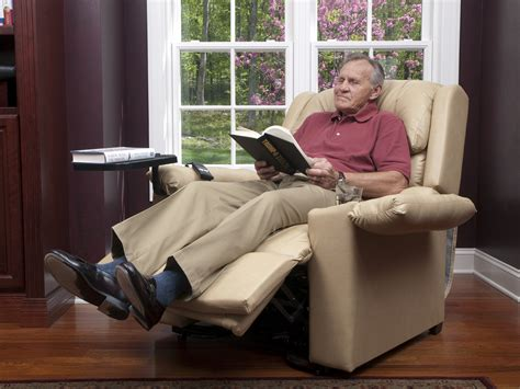man in recliner medical equipment company offers the best in lift chair