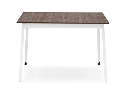tavolo quadrato calligaris tavolo quadrato in acciaio e legno dot tavolo quadrato