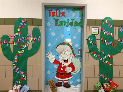 christmas decorations for school diy door decoration for cathy