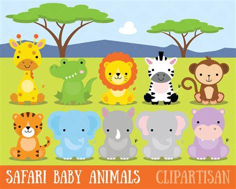 imagenes de animales de safari clipart de animales beb 233 safari selva animales im 225 genes
