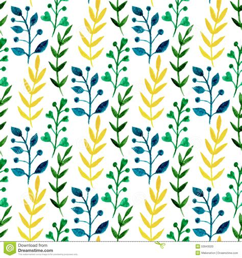 pattern nature colorful nature organic background with tropical leaves vector