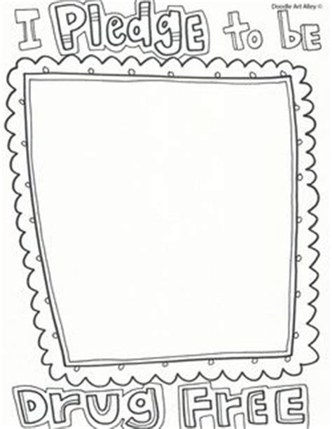 coloring pages for red ribbon week owl never do drugs coloring page coloring pages for red