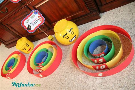 55 best diy lego activities parties and decorations homemade skee ball lego games tip junkie