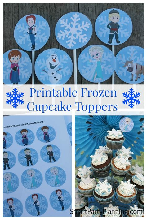 printable olaf bag toppers printable frozen cupcake toppers