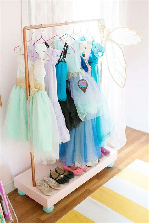 Dressing Rack by 6 Simple Solutions For Organizing Dress Up Clothes The