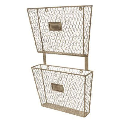 Wire Magazine Rack Wall Mount by Metal Wall Mount 2 Tier Magazine Holder A Chipper Home Office Pin