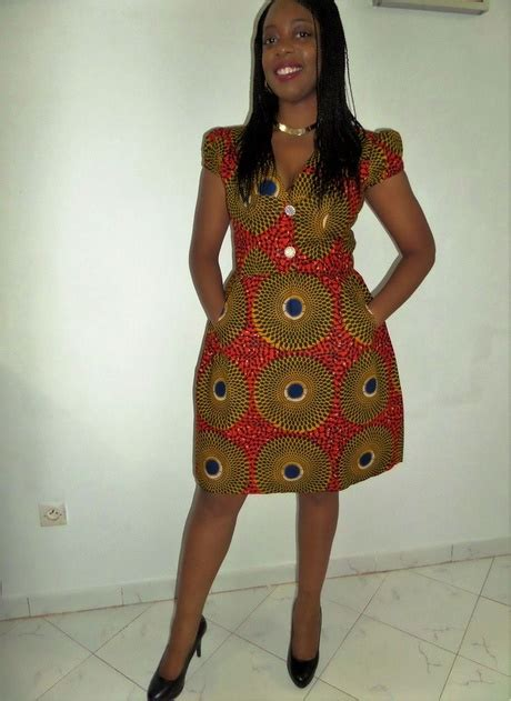 Modele De Robe Wax