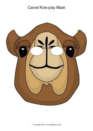 printable animal eye masks camel role play masks sb10141 sparklebox projects to