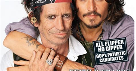 Johnny Keith Richards Do Rollingstone by Johnny Depp And Keith Richards 2007 Rolling Cover