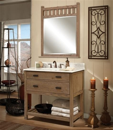 Homey Feeling by Driftwood Bathroom Vanities A Trendy Choice For A
