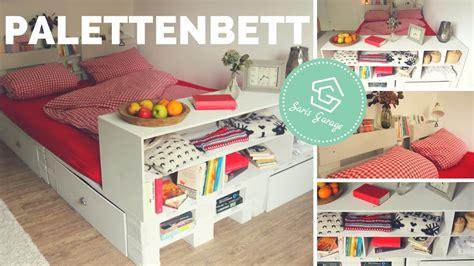 Bett Europaletten by Palettenbett Selber Bauen Bett Aus Europaletten Diy