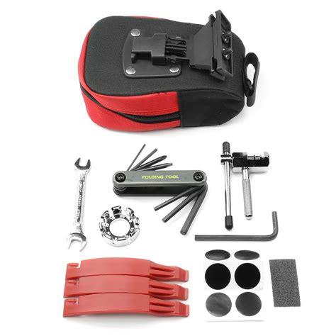 Bicycle Repair Tools bicycle repair tool kit with saddle bag ebay
