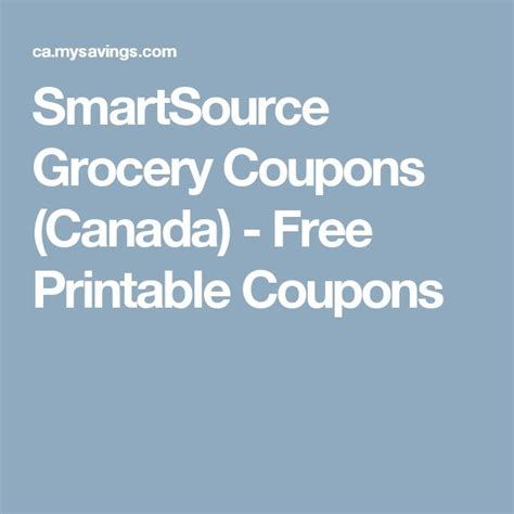 printable grocery coupons canada 17 best ideas about free printable grocery coupons on