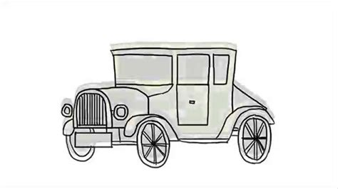classic cars drawings how to draw a car a classic car step by step very