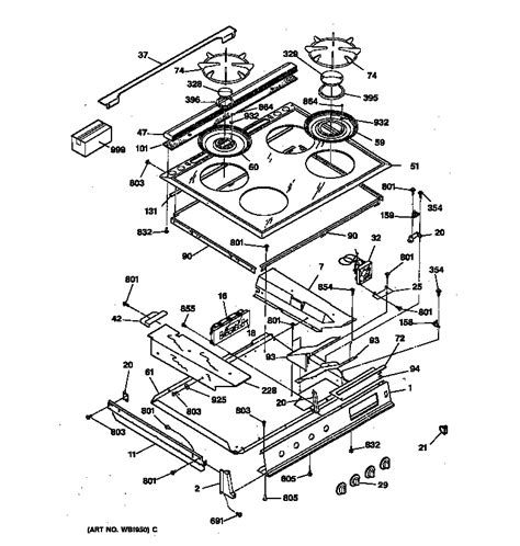 gas stove diagram wiring diagram for ge cooktop wiring get free image