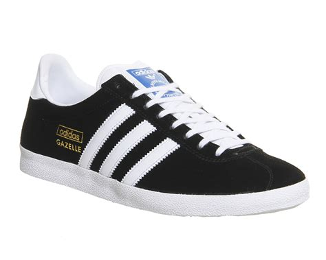 Adidas Gazelle adidas gazelle og black white metallic gold unisex sports