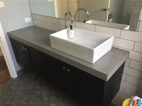 concrete bench tops concrete benchtops melbourne benchmark benchtops