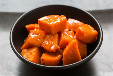 candied yams recipe simplyrecipes com