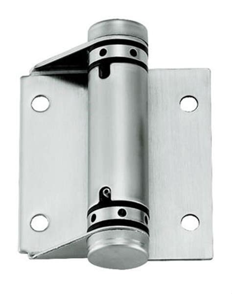 spring loaded hinges kmj sas006ss single action spring hinge ss single action