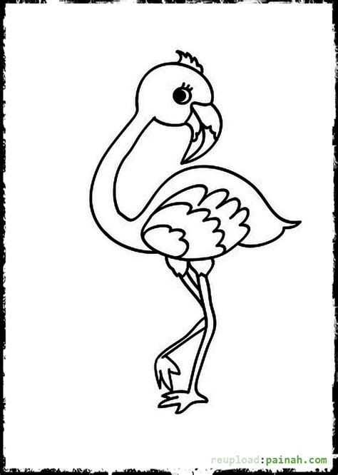 flying color baby baby bird flamingo coloring pages coloring pages
