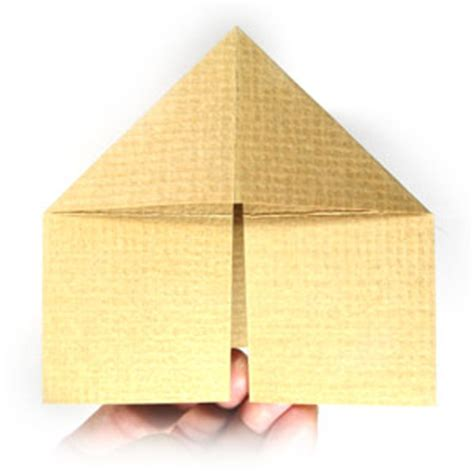 3d House Origami - how to make a 3d origami house page 14
