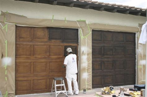 faux garage door painting 25 best ideas about painted garage doors on