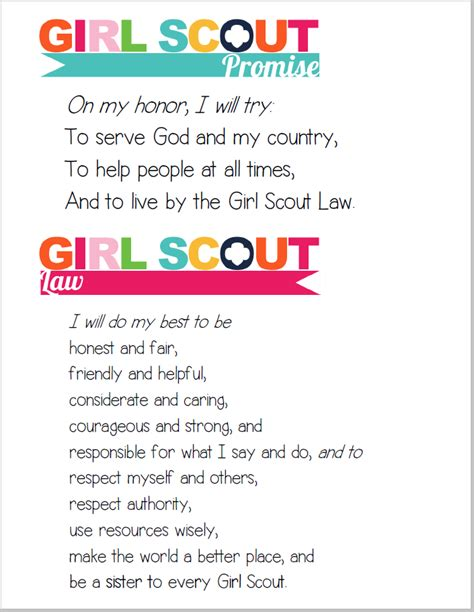 Scout Pledge I Am Scouts August 2014