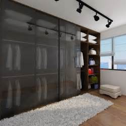 open concept wardrobe  master bedroom  replace track