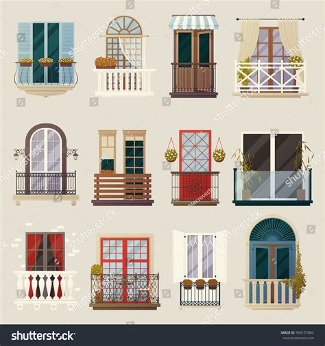modern home design vector house exterior design ideas modern vintage stock vector