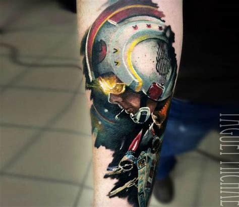 luke skywalker tattoo luke skywalker by michael taguet post 21080